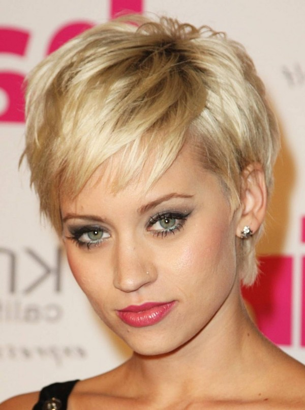 Phenomenal Cute Short Hairstyles 2015 Hairstyles 2016 Hair Colors And Haircuts Hairstyles For Men Maxibearus