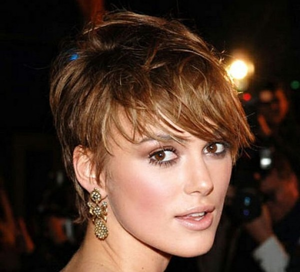 cute messy short hairstyles 2015 by Keira Knightley