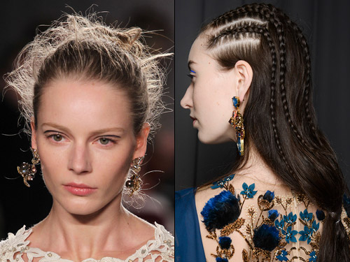 Top trendy fall 2014 hairstyles hairstyles 2017 hair colors and fall 2014 hairstyles tight braids urmus Images