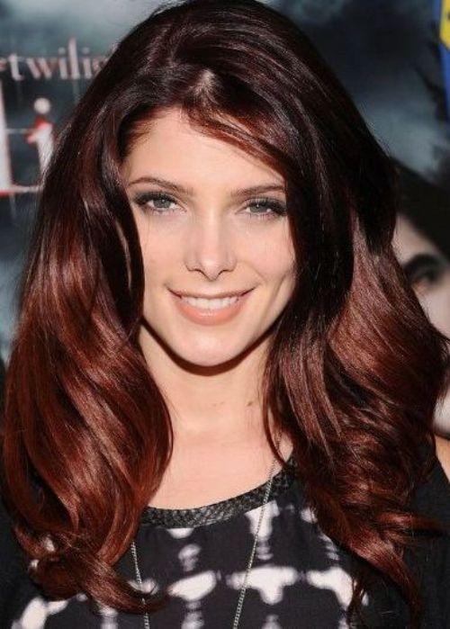 how to get ashley greens auburn hair
