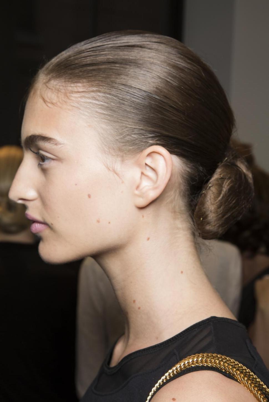 Altuzarra slicked back hairstyles 2015