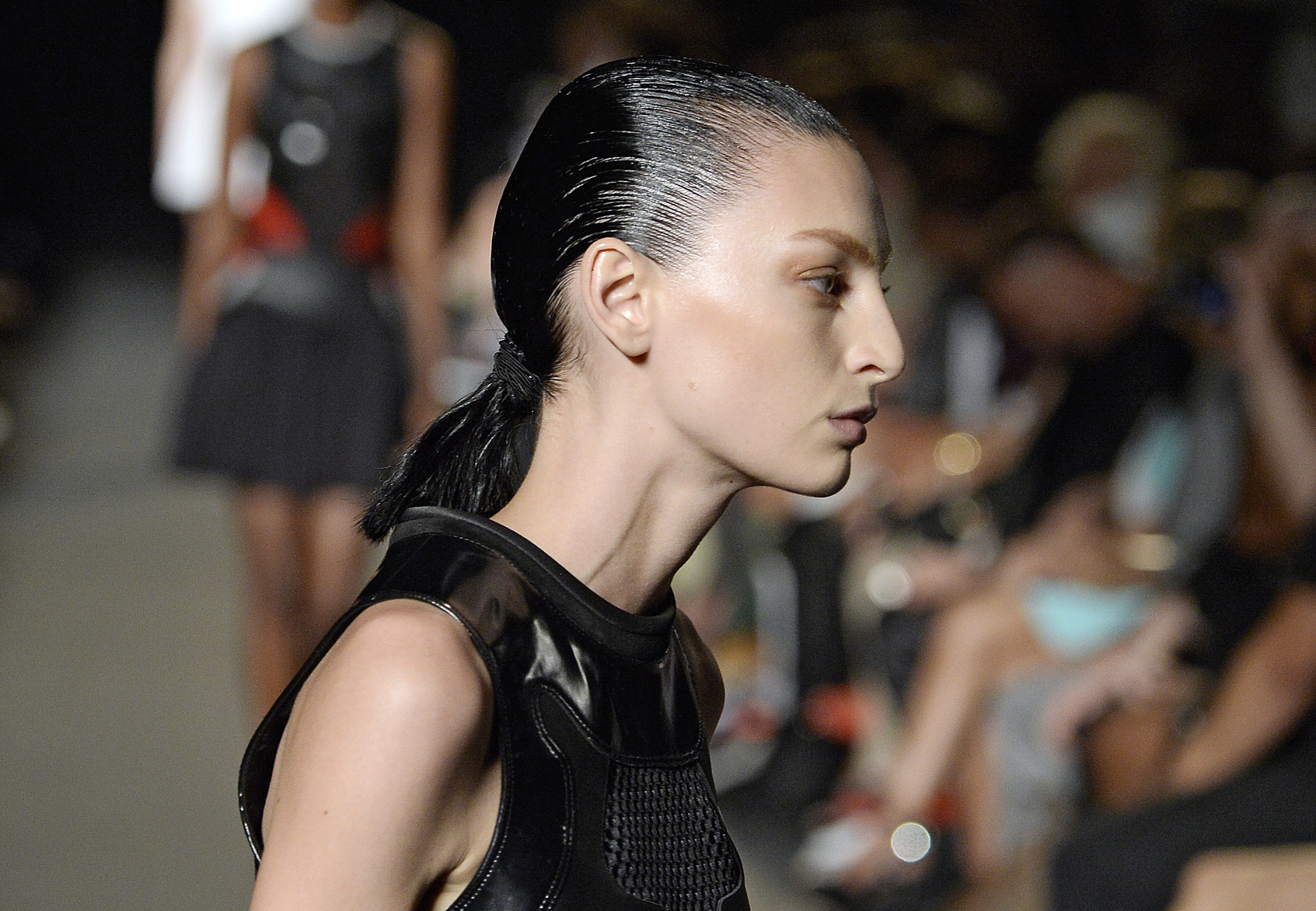 Slicked Back Hairstyles 2015 Spring/ Summer Trends