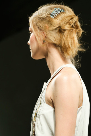 Bottega Veneta Hairstyles & Hair Accessories 2015