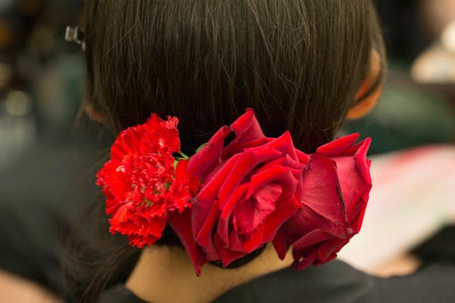 Dolce & Gabbana Hairstyles & Hair Accessories 2015
