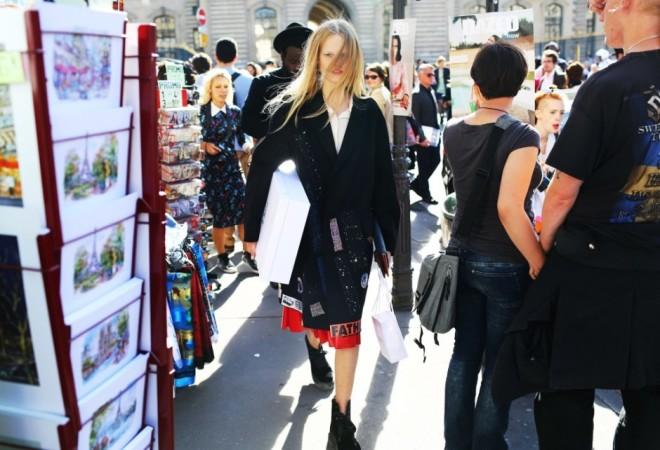 Paris Fashion Week Hairstyles 2015 Street Style