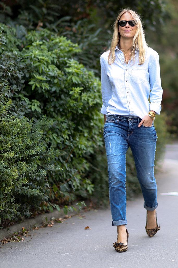 Paris Fashion Week Hairstyles 2015 - Street Style Blonde Hair