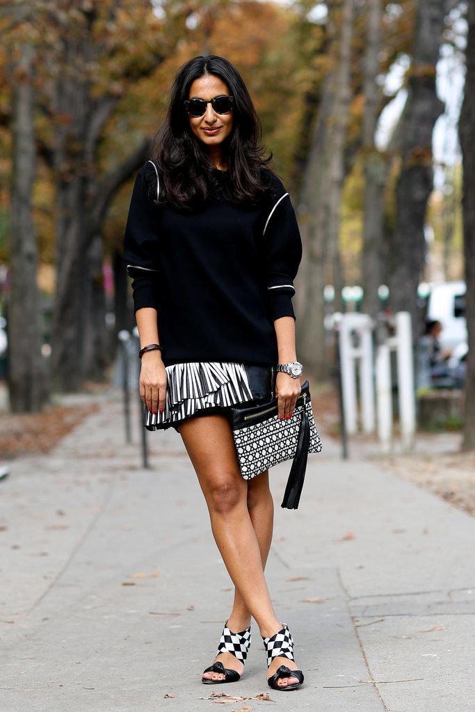 Wondrous Paris Fashion Week Hairstyles 2015 Street Style Hairstyles 2017 Short Hairstyles Gunalazisus