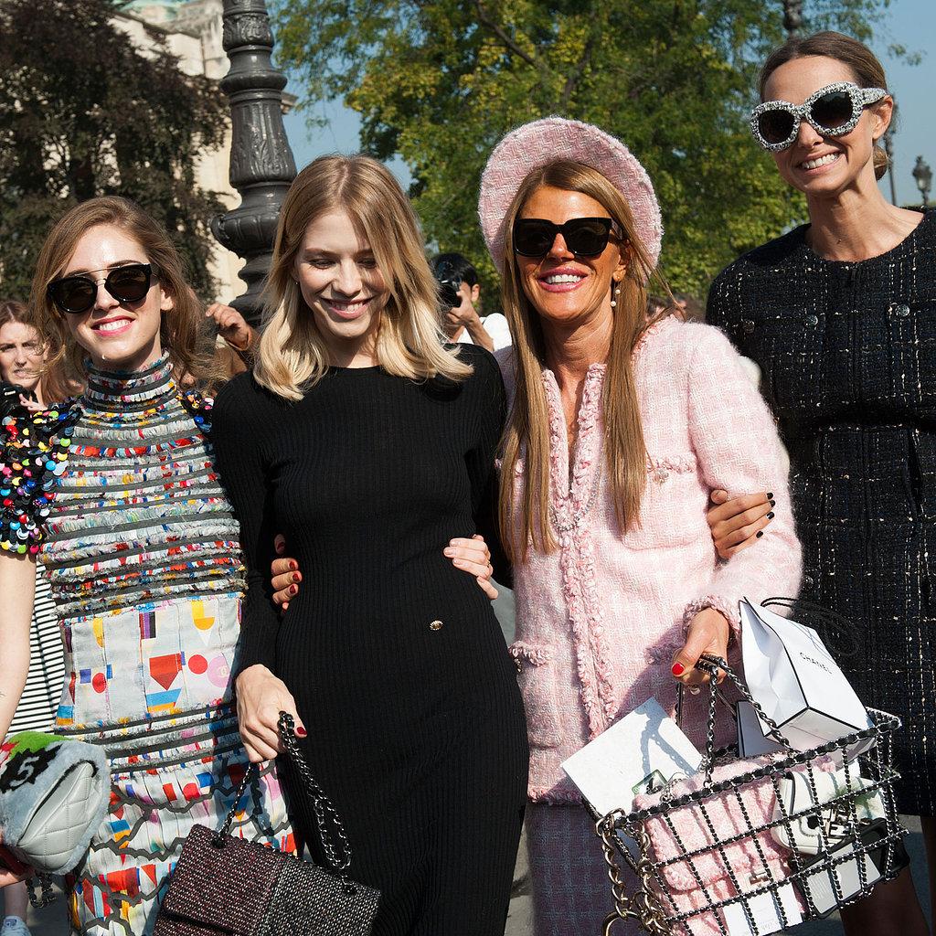 Paris Fashion Week Hairstyles 2015 - Street Style Easy Hair