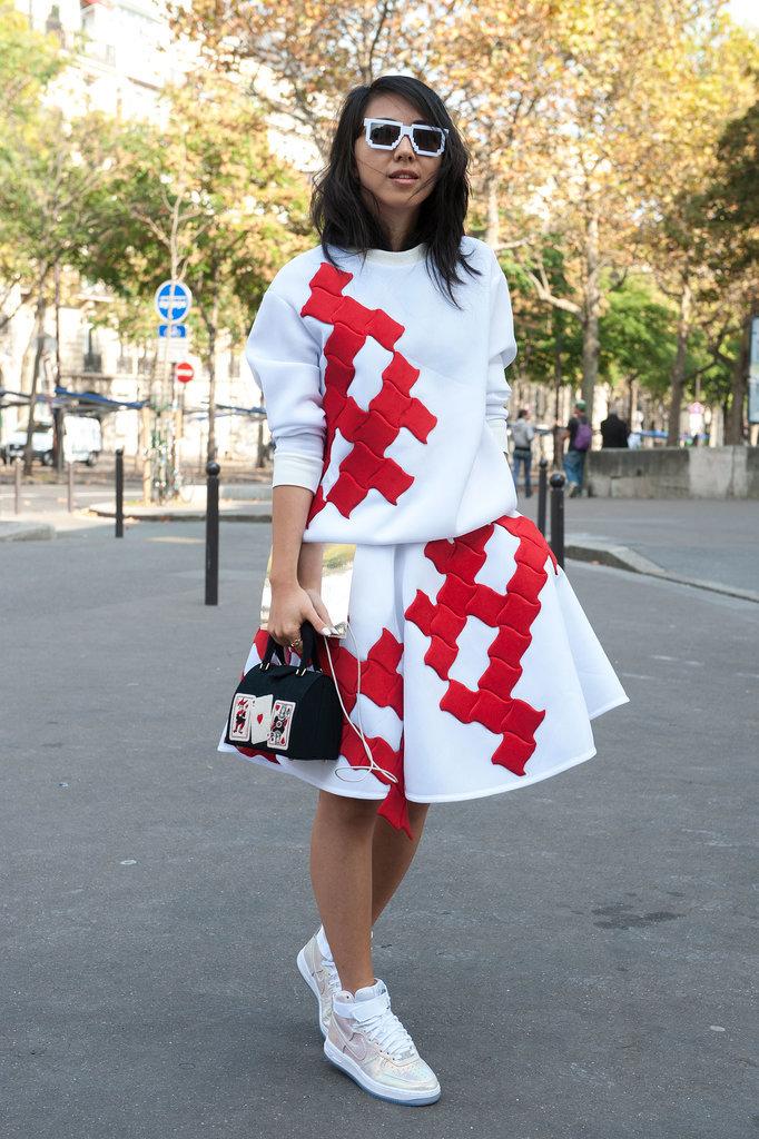 Paris Fashion Week Hairstyles 2015 - Street Style Simple Messy Hair