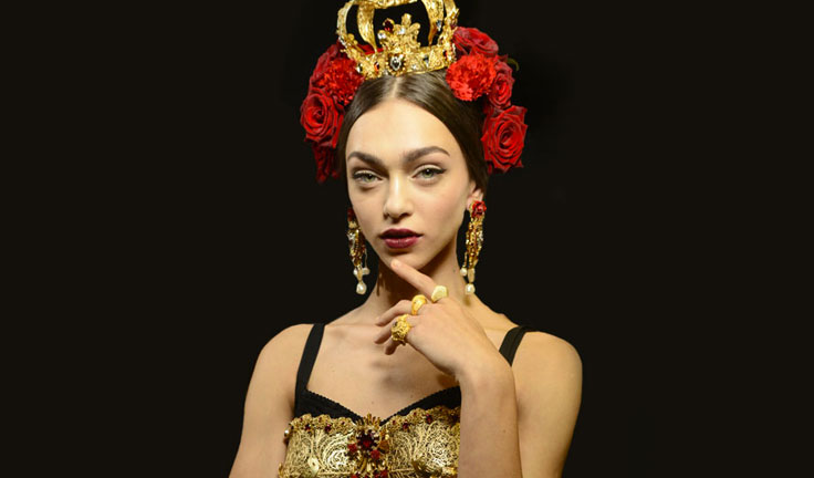 Spanish Hair Styles: Dolce & Gabbana Hairstyles 2015 And Spanish Hair