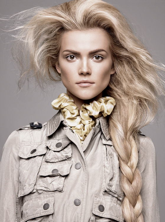 Guido Palau loose braids hairstyles 2015
