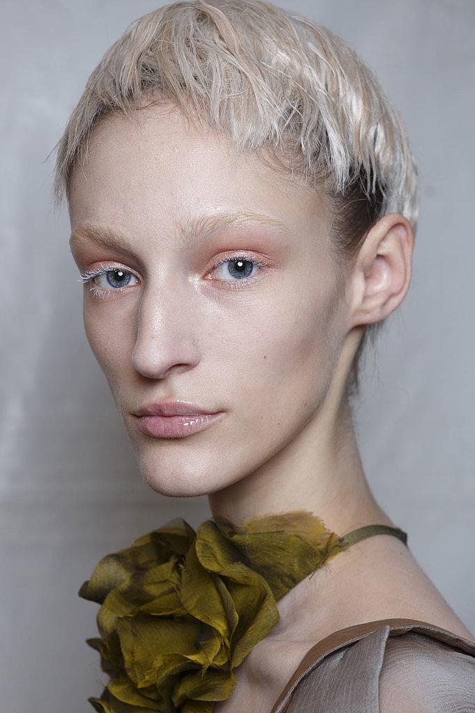 Haider Ackerman hairstyles 2015
