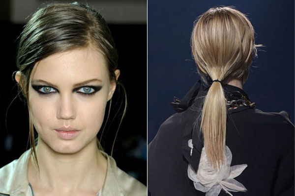 Trendy low ponytail hairstyles 2015