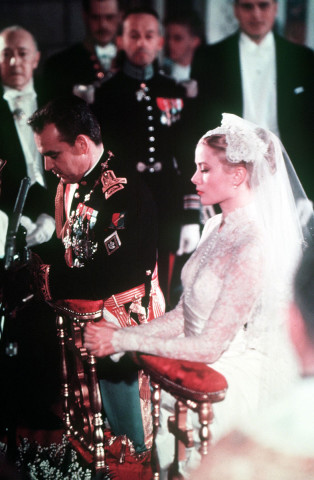 Grace Kelly, Princess of Monaco wedding hairstyles for 2015