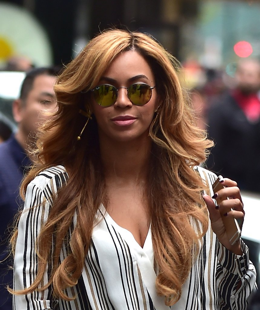 Beyonce celebrity hairstyles October 29