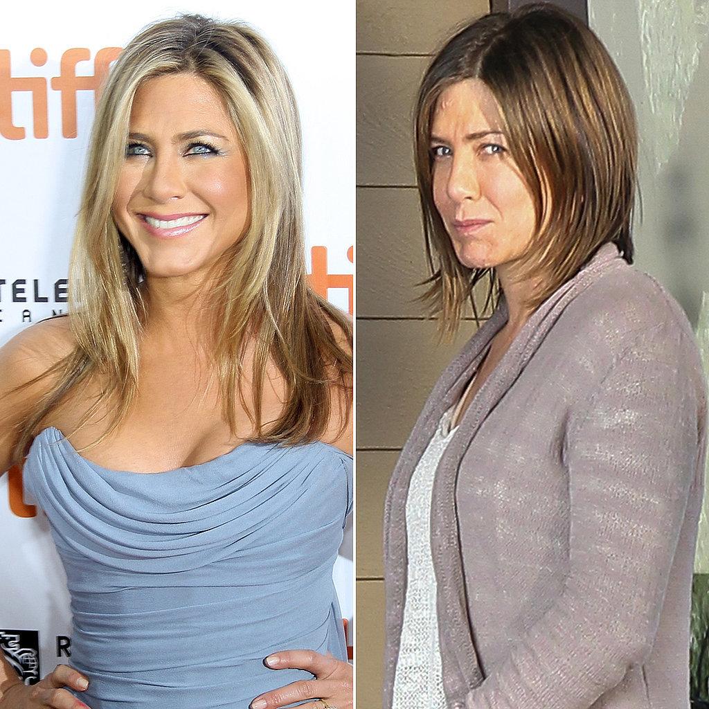Jennifer Aniston hairstyles 2015