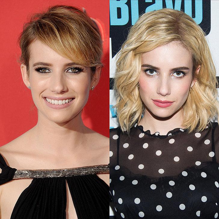 Emma Roberts hairstyles 2015