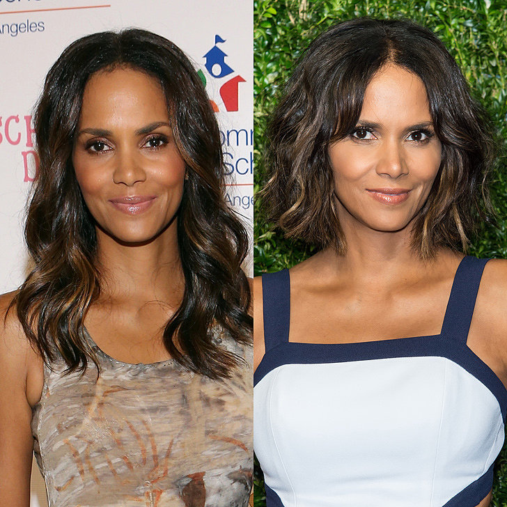 Halle Berry hairstyles 2015