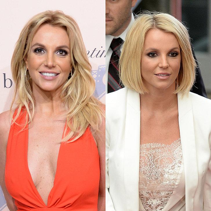 Britney Spears hairstyles 2015