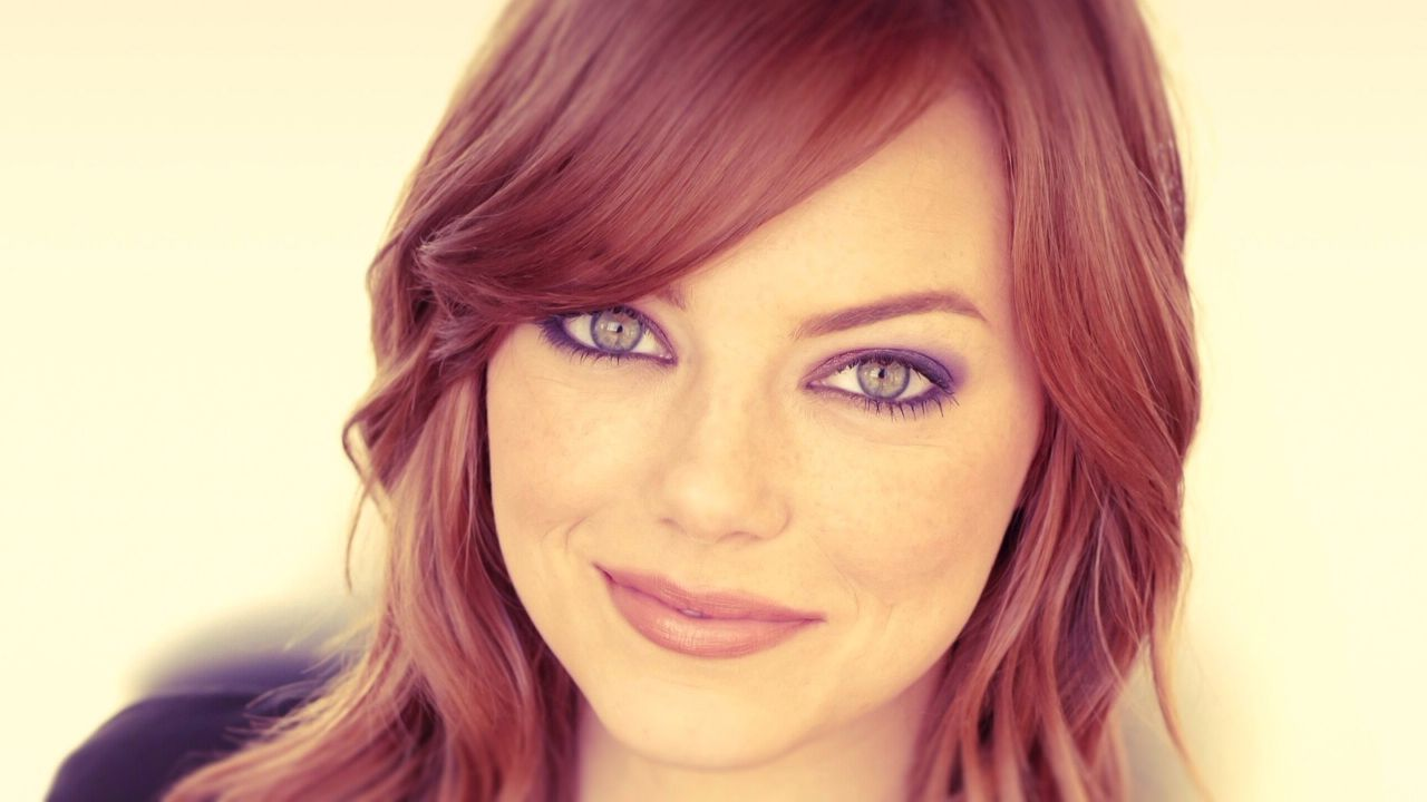 Emma Stone Red Hair Color 2015
