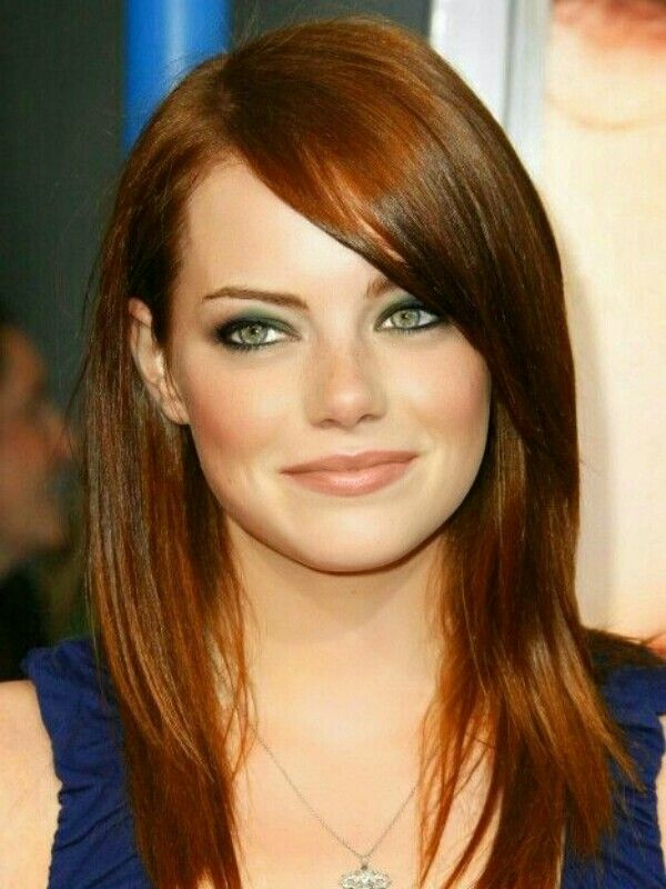Emma Stone hair colors 2015