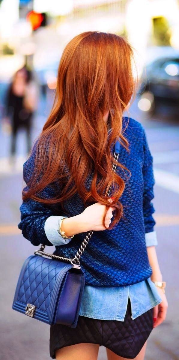 Red hair colors 2015