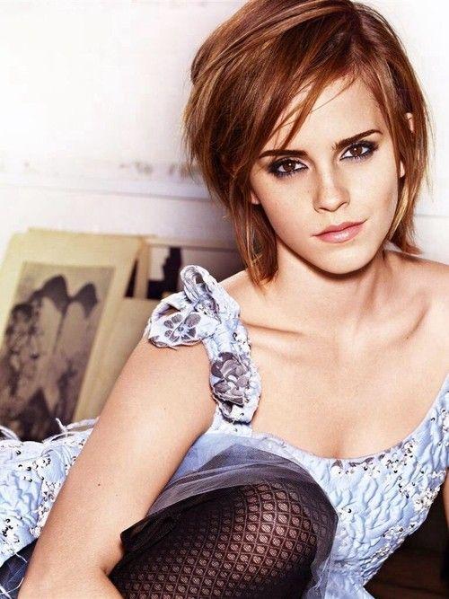 Emma Watson hair colors 2015