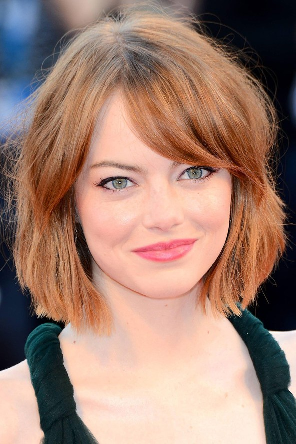 Emma Stone red hair colors 2015