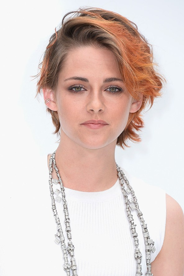 Kristen Stewart red hair colors 2015