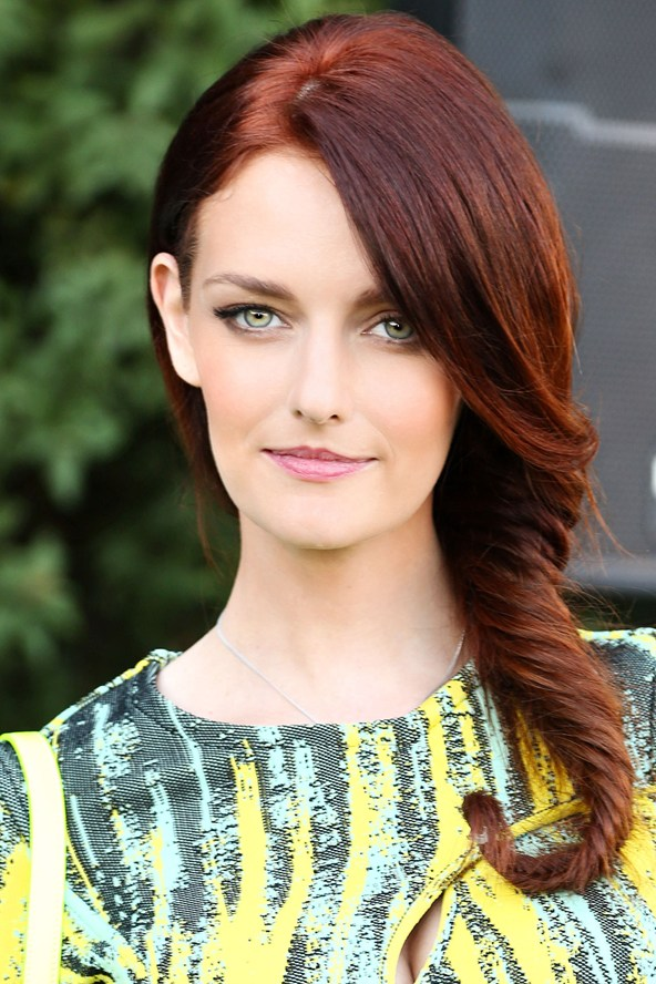Lydia Hearst red hair colors 2015