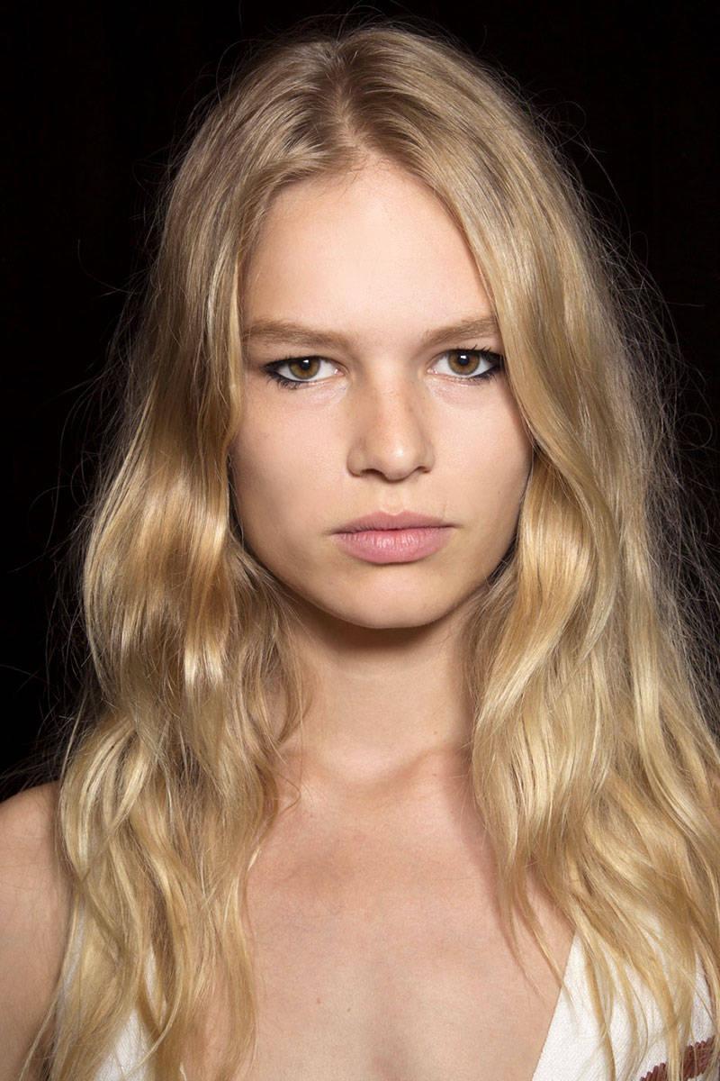 Narciso Rodriguez boho waves hairstyles 2015