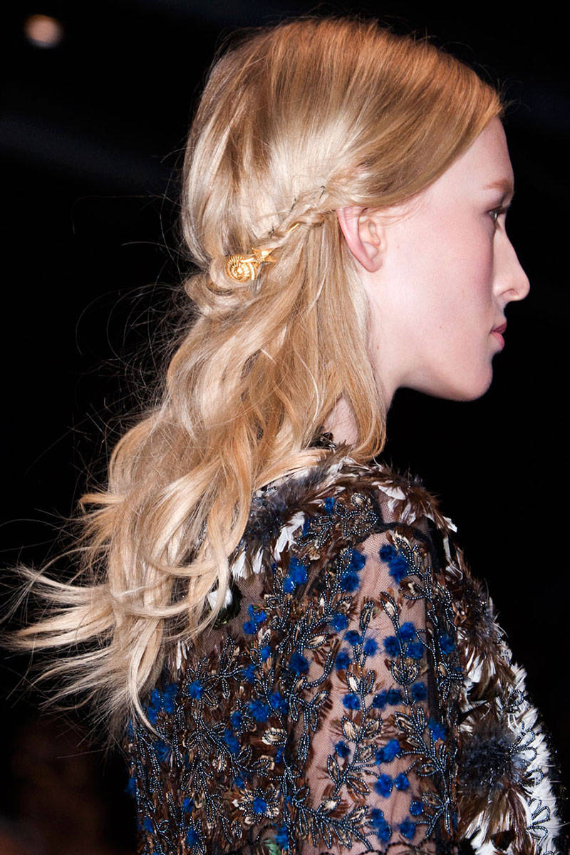 Valentino boho waves hairstyles 2015