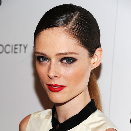 Coco Rocha ponytail hairstyles 2015