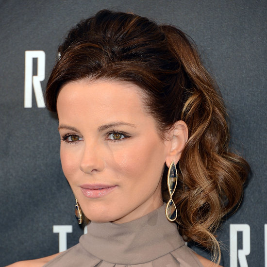 Kate Beckinsale ponytail hairstyles 2015