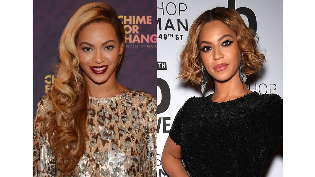 Beyonce wavy bob haircuts 2014