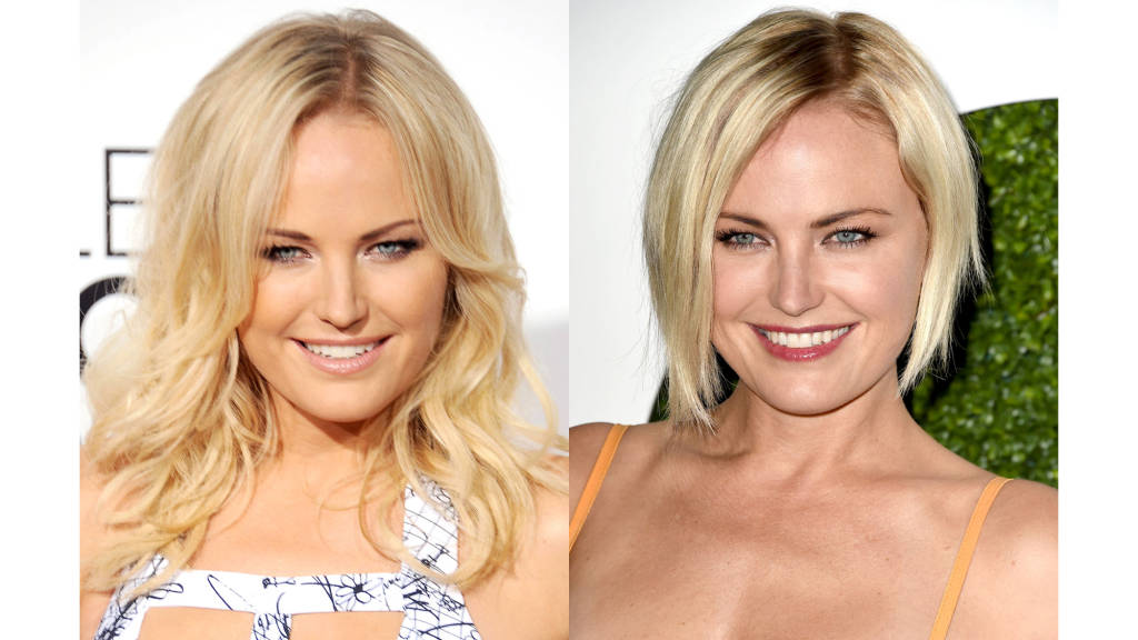 Malin Akerman short bob haircuts 2014