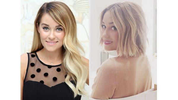 Lauren Conrad bob haircuts 2014