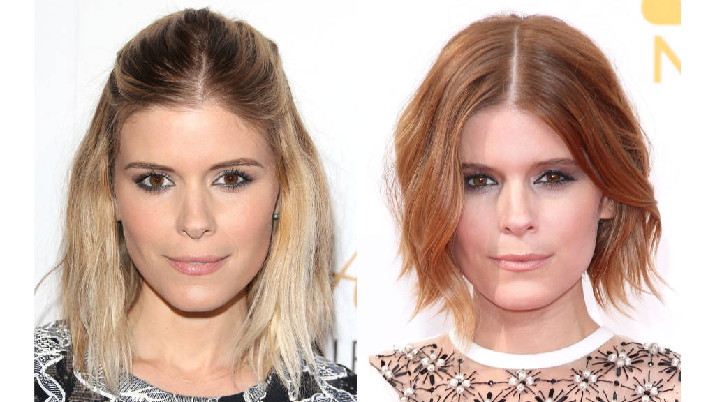 Kate Mara short bob haircuts 2014