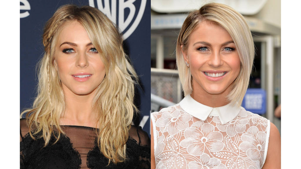 Julianne Hough bob haircuts 2014