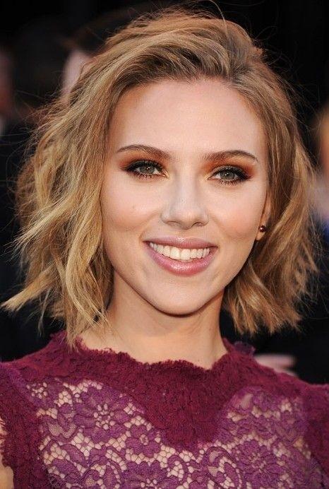 Scarlett Johansson bob haircuts 2015