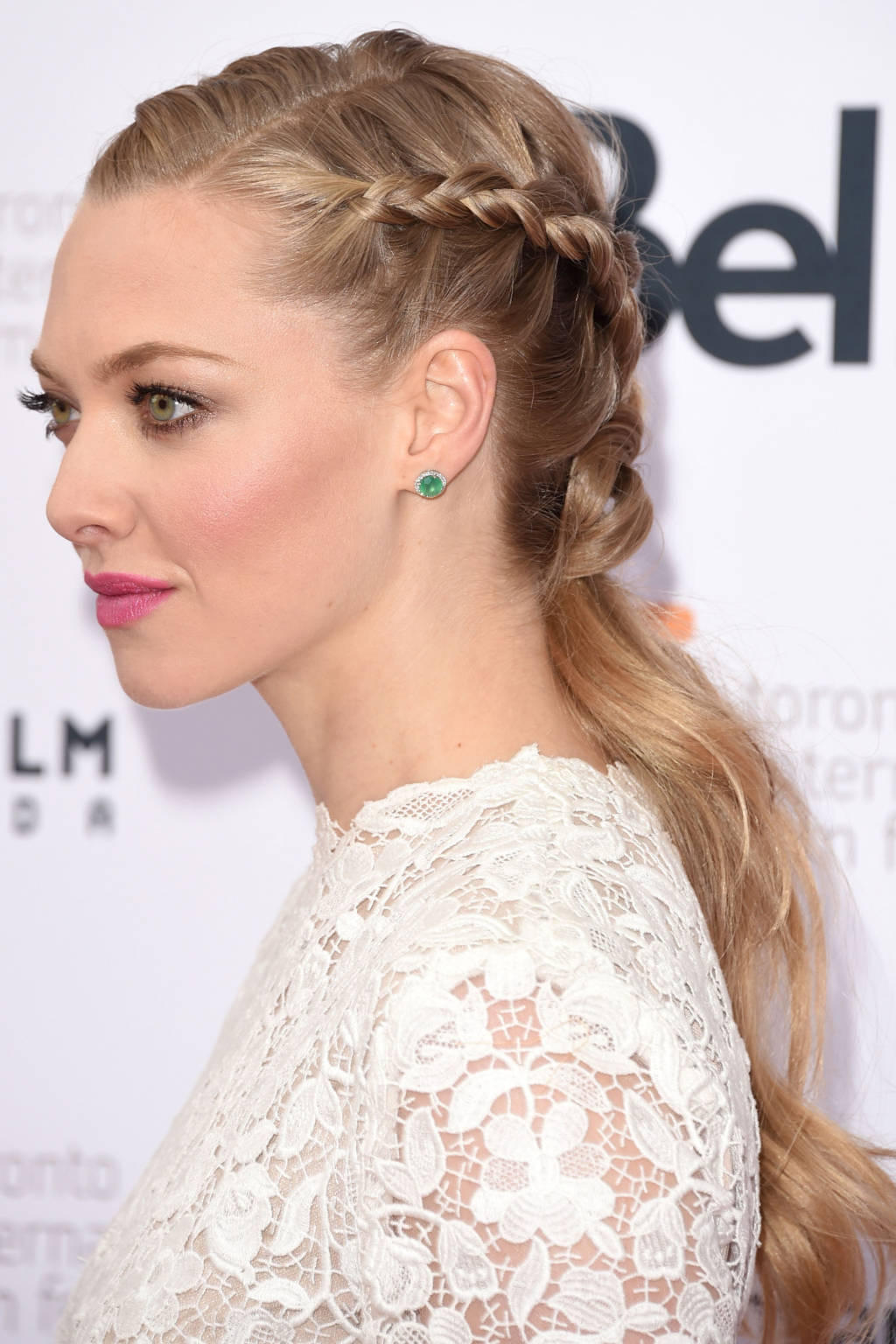 Amanda Seyfried French braids