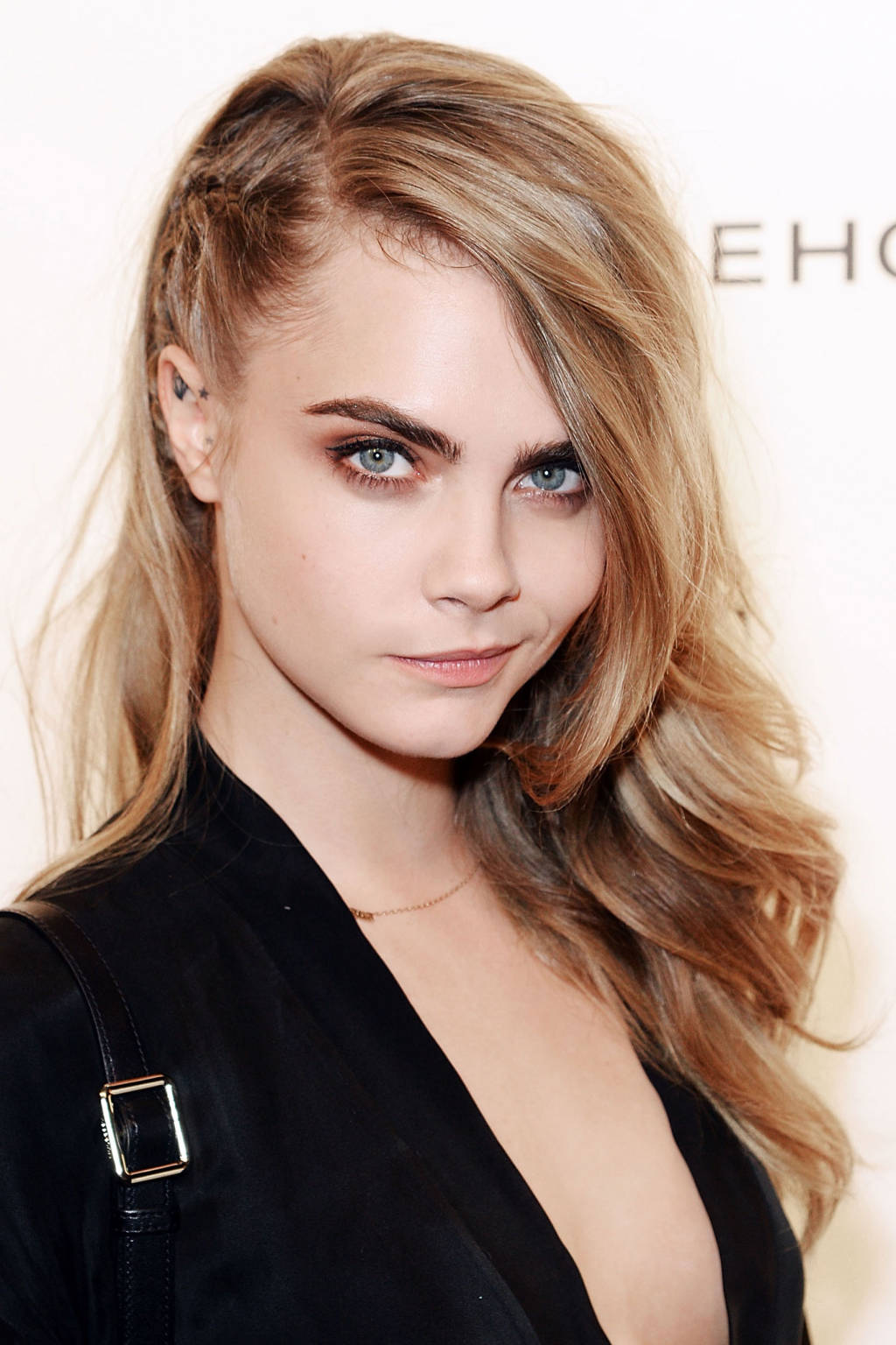 Cara Delevingne side braids 2015