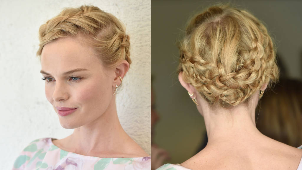 Kate Bosworth braids hairstyles 2015