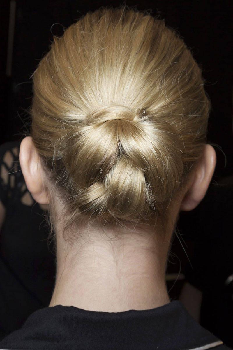 Erin Fetherston bun hairstyles 2015