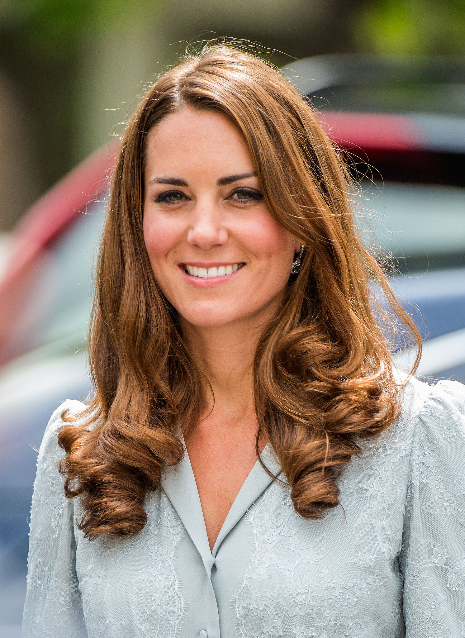 Kate Middleton curly hairstyles 2015