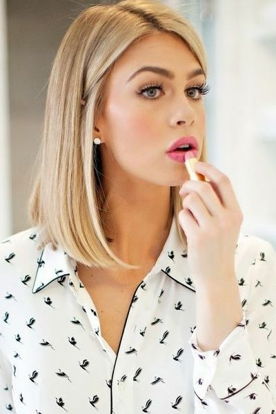 Easy cute long bob hairstyles 2015