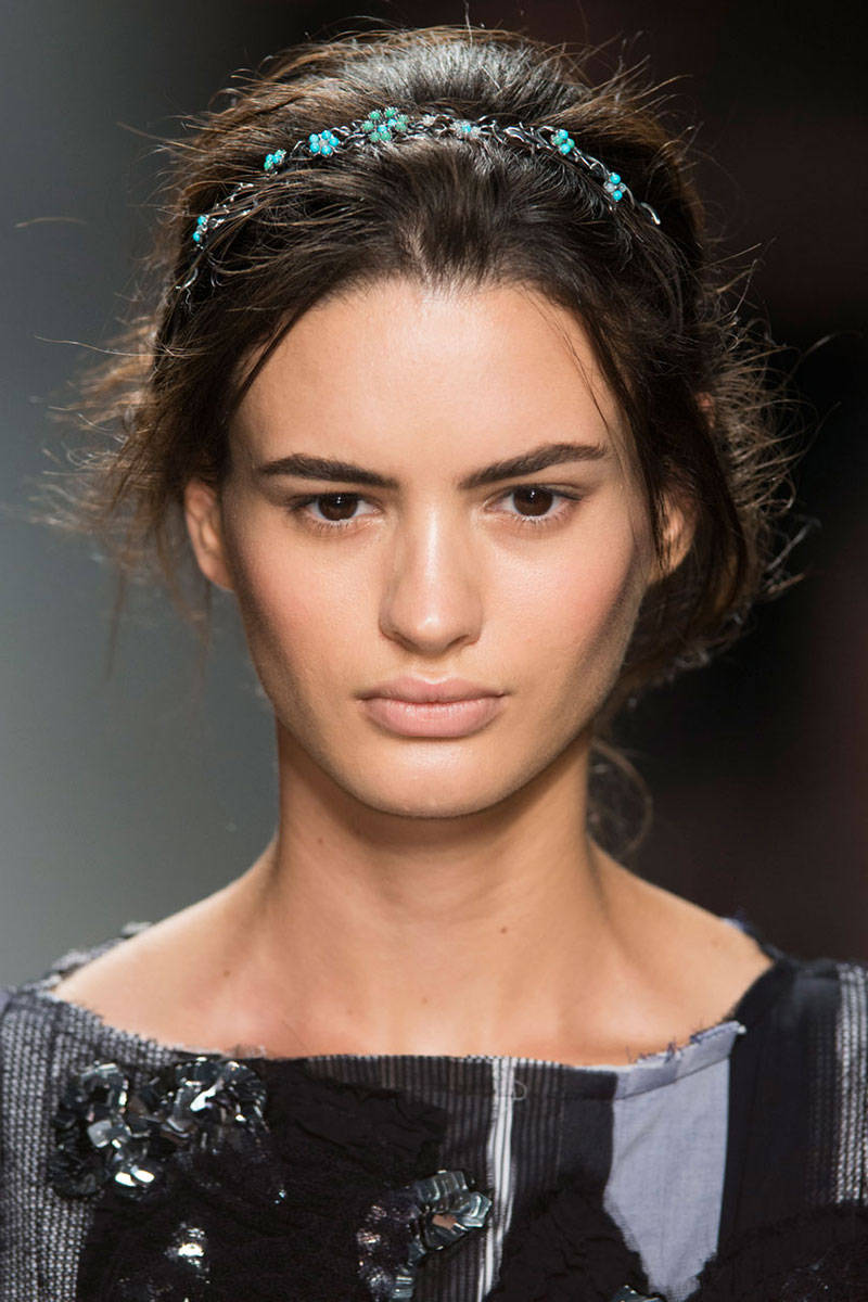 Bottega Veneta hair accessories 2015