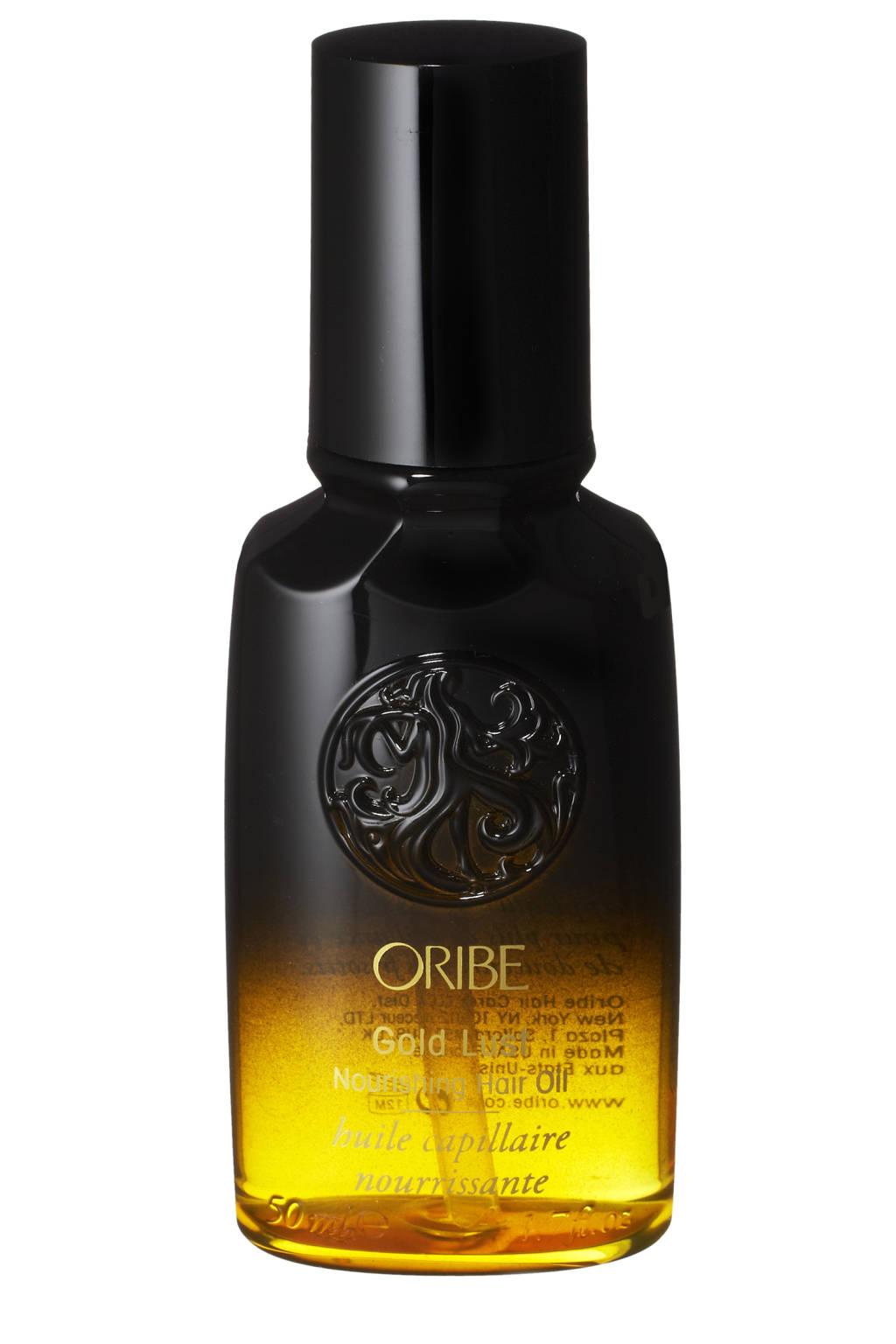 Hair care - gold hair oil