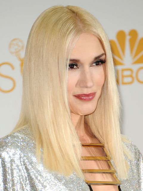 Gwen Stefani blonde hair color trends 2015