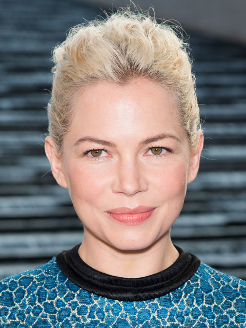 Michelle Williams silver hair color trends 2015
